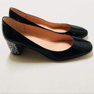 ✨ 30%OFF Kate Spade Dolores glitter heel pumps 9.5
